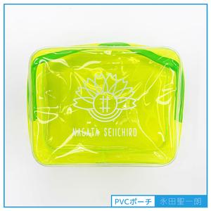 【永田聖一朗】ロゴ入り PVCポーチ
